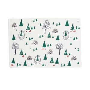 Kate Spade Holiday Village Placemats S/O 4